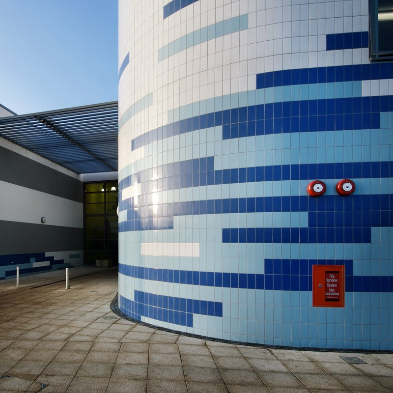 Johnson Tiles Voyager School Is A Landmark State Of The