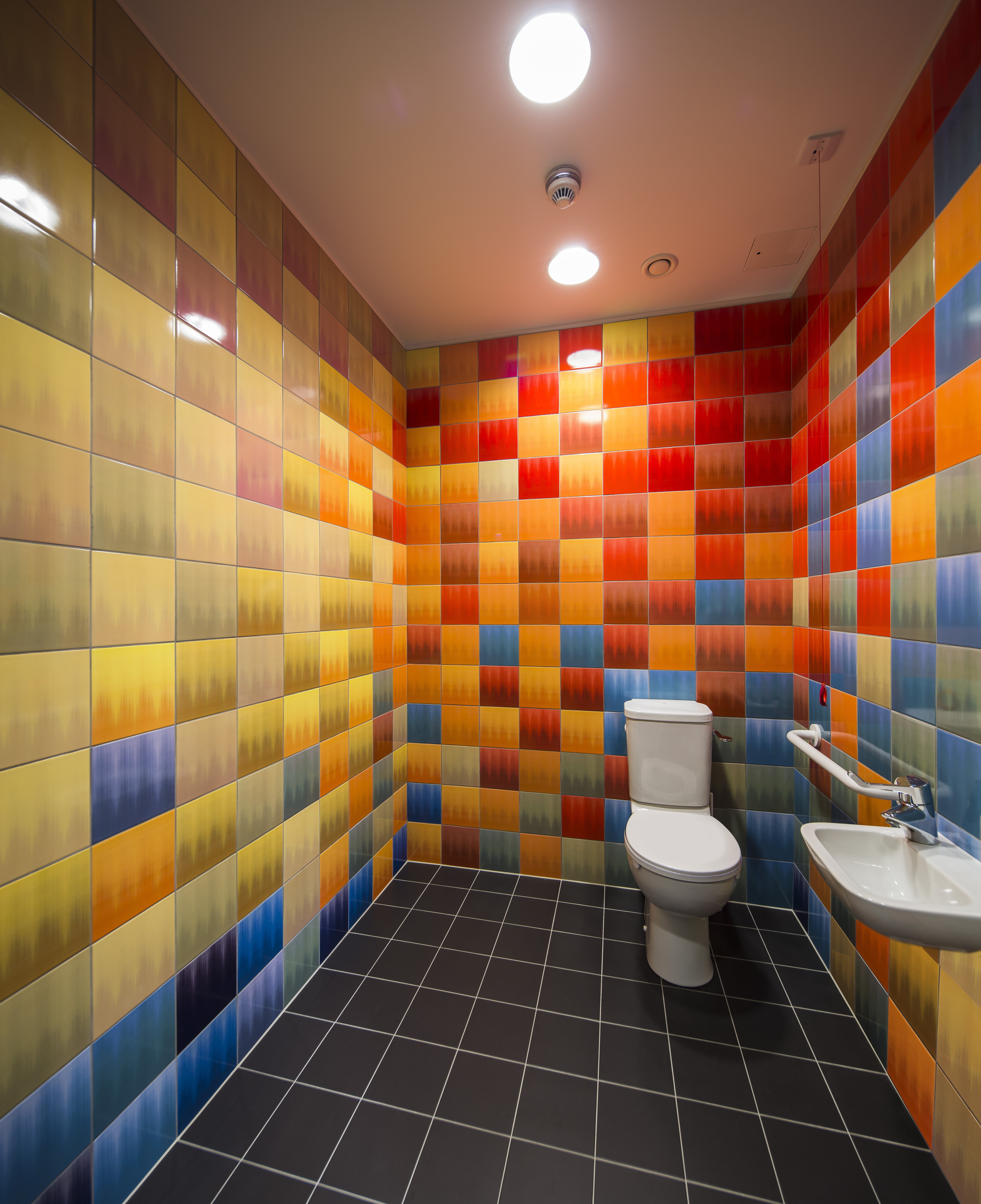 Johnson Tiles Splash Of Colour At Caa Gallery