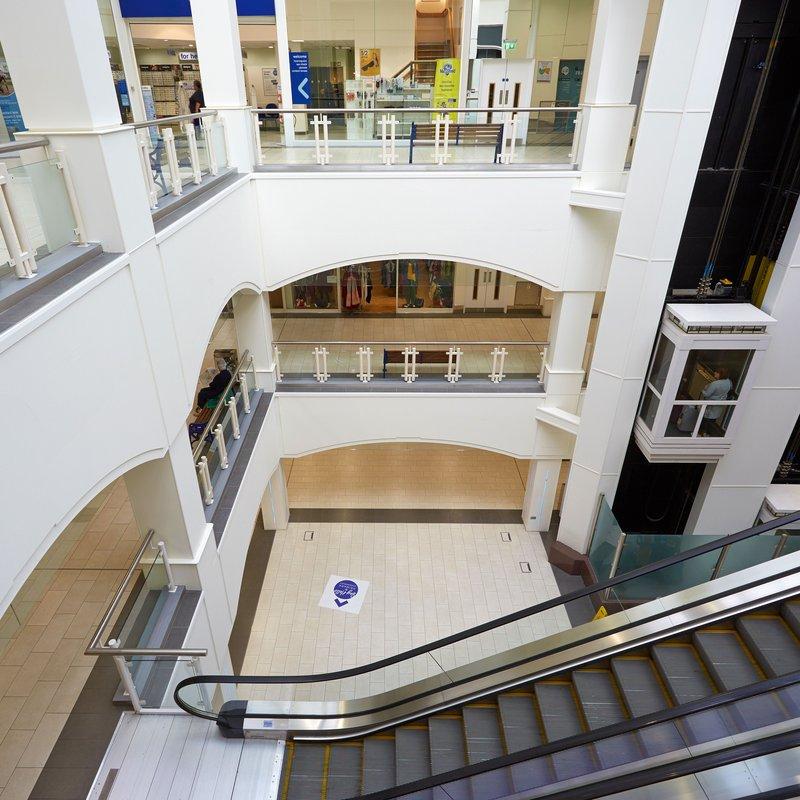 Johnson Tiles When Shrewsbury S Darwin Shopping Centre