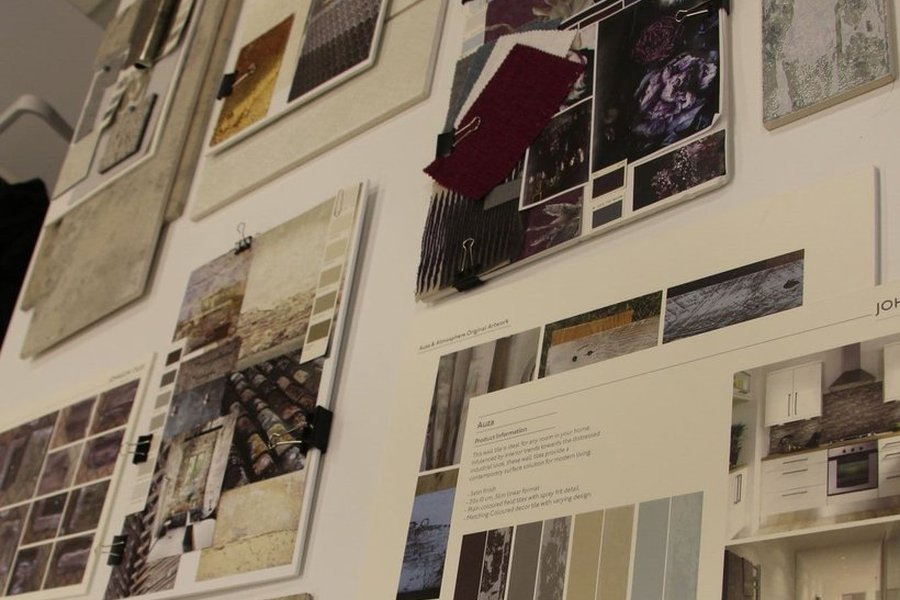 Johnson Tiles partners with Staffordshire University to set creative design brief