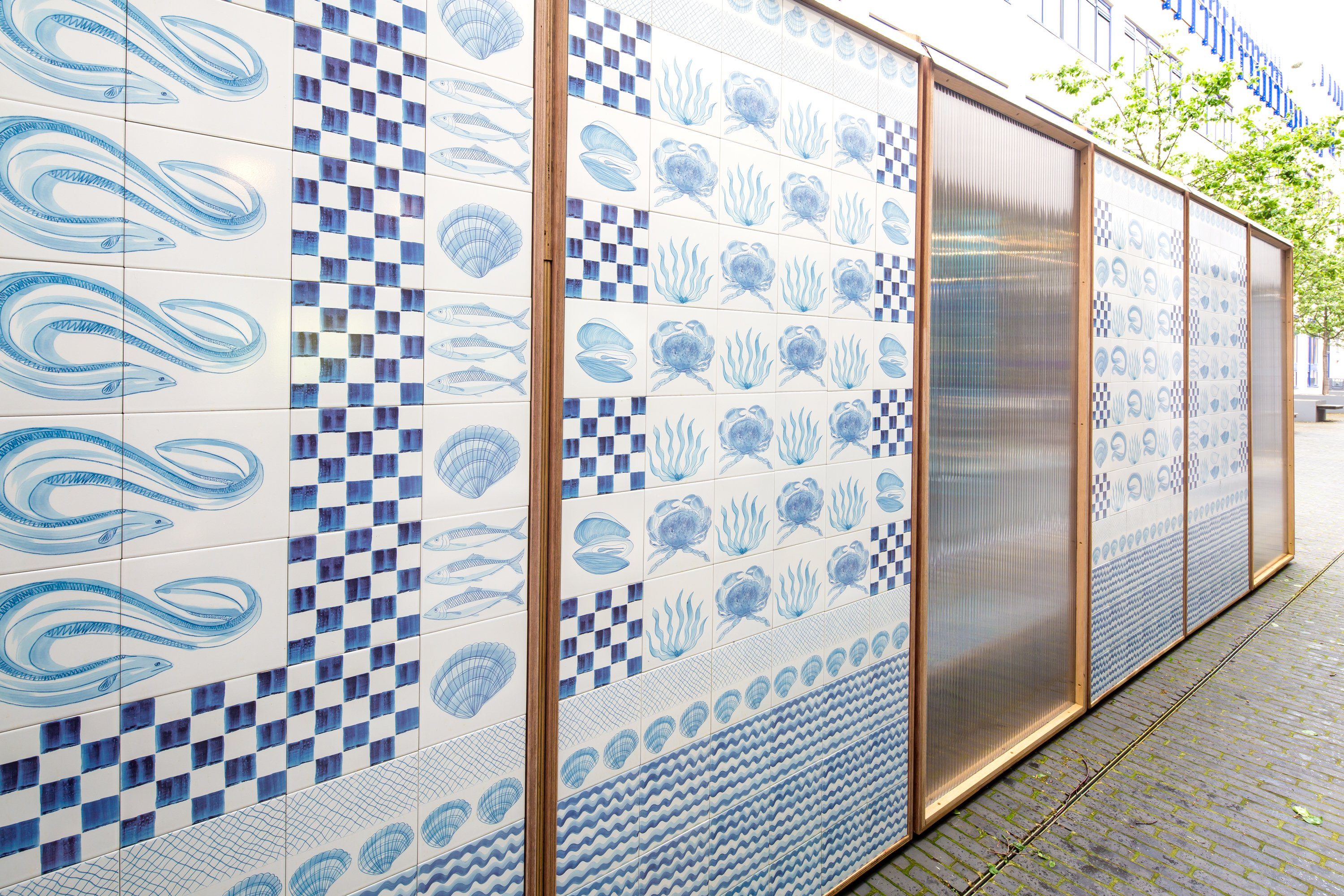Johnson Tiles The Crafted City Pavilion Unveiled At
