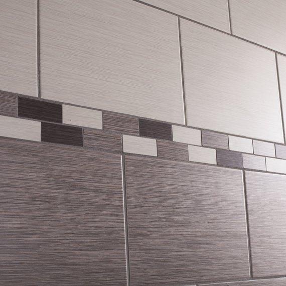 Johnson Tiles Intro Collection Grain Ash Matt Wall