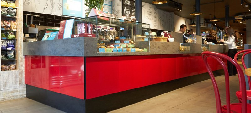 Johnson Tiles When High End Coffee Retailer Costa Coffee