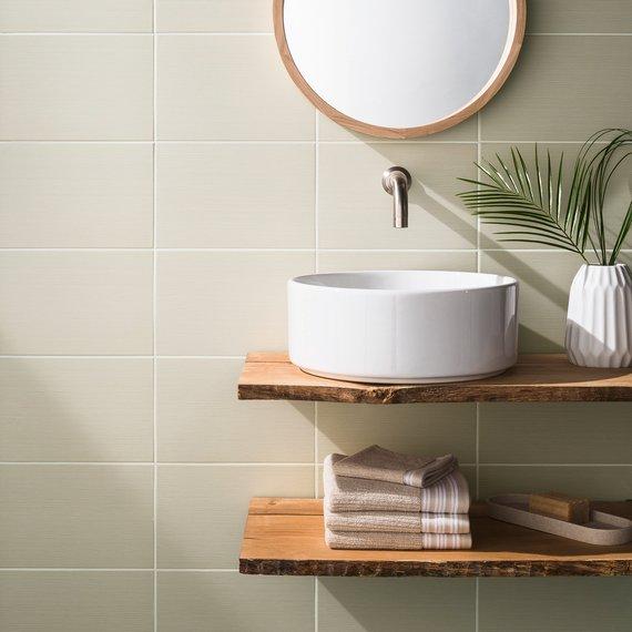 Rustic White Bathroom Design