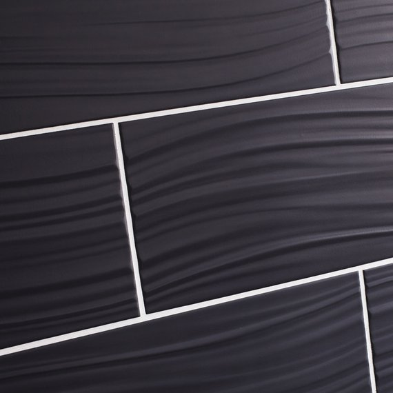 Johnson Tiles Select Collection Tones White Matt Polygon - Matt black bathroom tiles