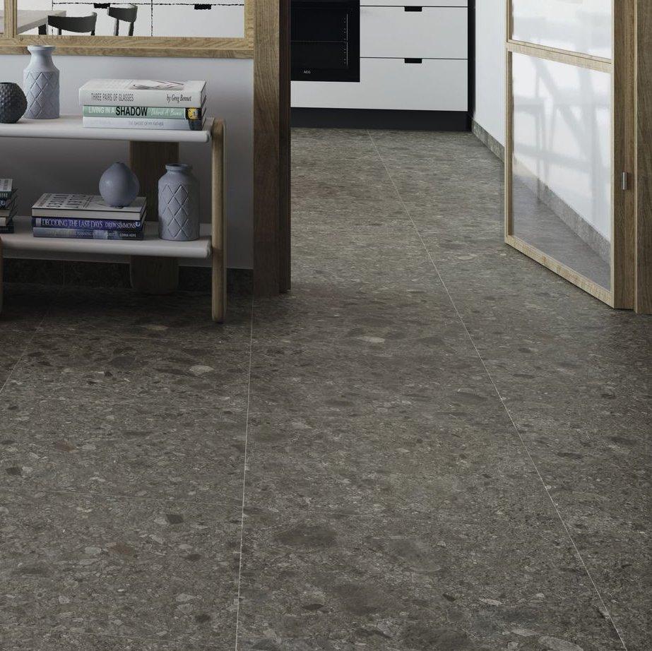 Johnson Tiles — Select Collection — Terrazzo Light Stone