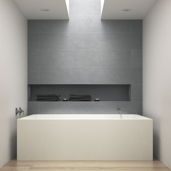 Johnson Tiles Absolute Collection Refine Pewter