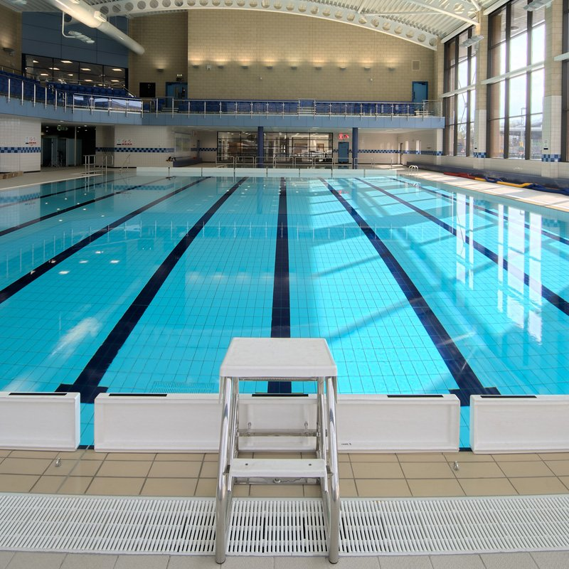 Johnson Tiles Incorporating An Eight Lane 25m Pool