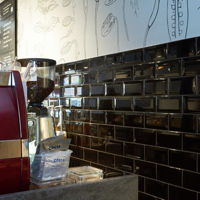 Johnson Tiles When High End Coffee Retailer Costa Coffee