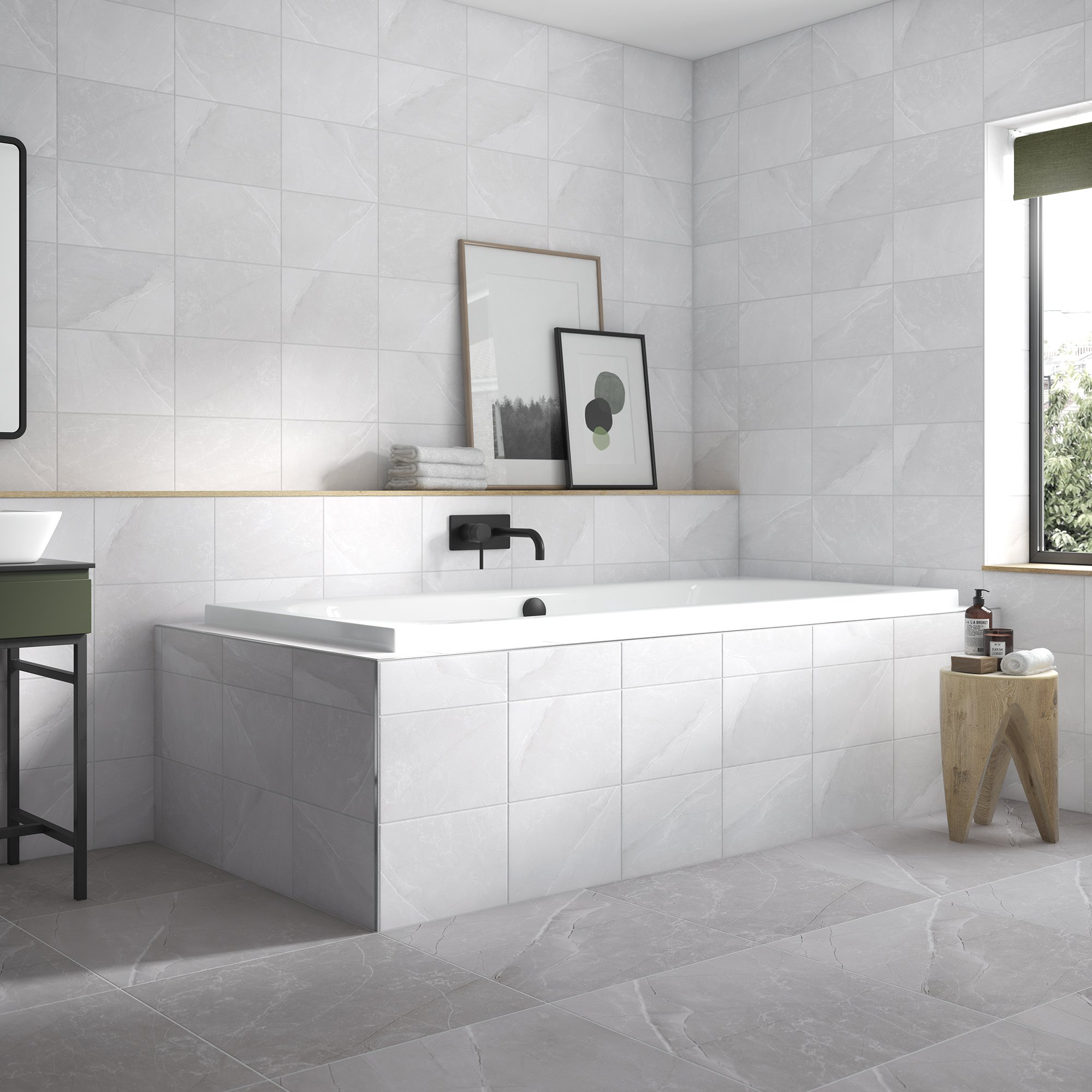 Melford Marble_MEL01A_Light Grey_Matt_300x200_MEL02N_Dark Grey_Natural_500x500_Bathroom [1].jpg