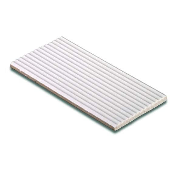Pools, White (AP845) Ribbed