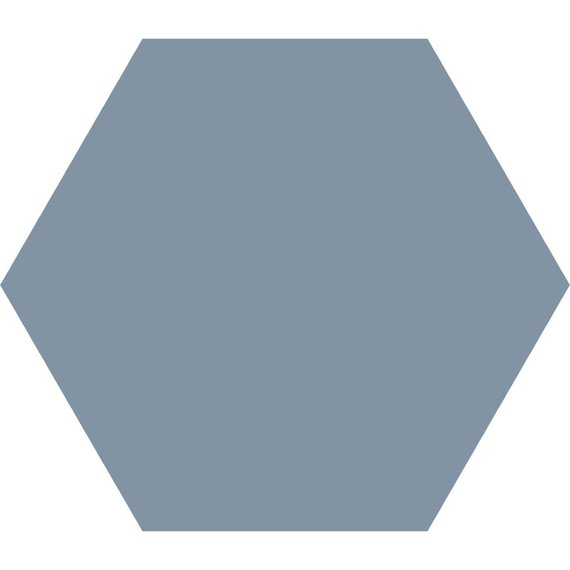 Hex25, Mid Blue (250mm x 220mm)