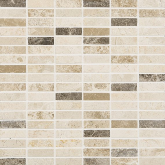 Johnson Tiles Select Collection Natural Mosaics Brown