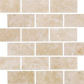 Natural Mosaics, White Brick