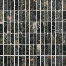 Natural Mosaics, Black Rectangular
