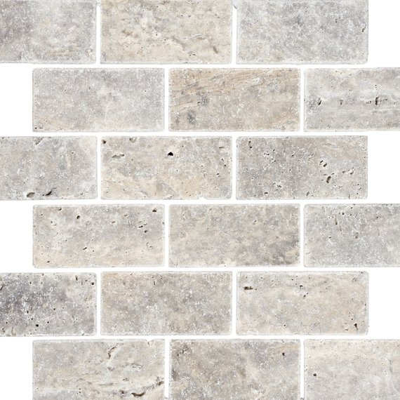 grey travertine tiles johnson tiles select collection natural mosaics silver